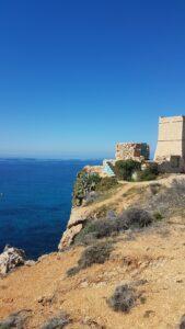 Malta mit blauem Himmel