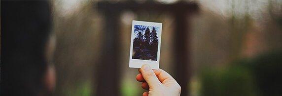 Altes Polaroid